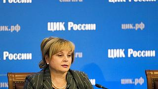 Ella Pamfilova, az orosz Központi Választási Bizottság elnöke