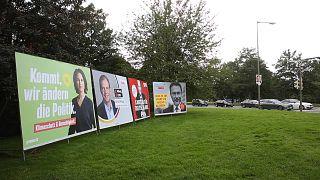 Almanya'da siyasi partilerin seçim kampanyaları