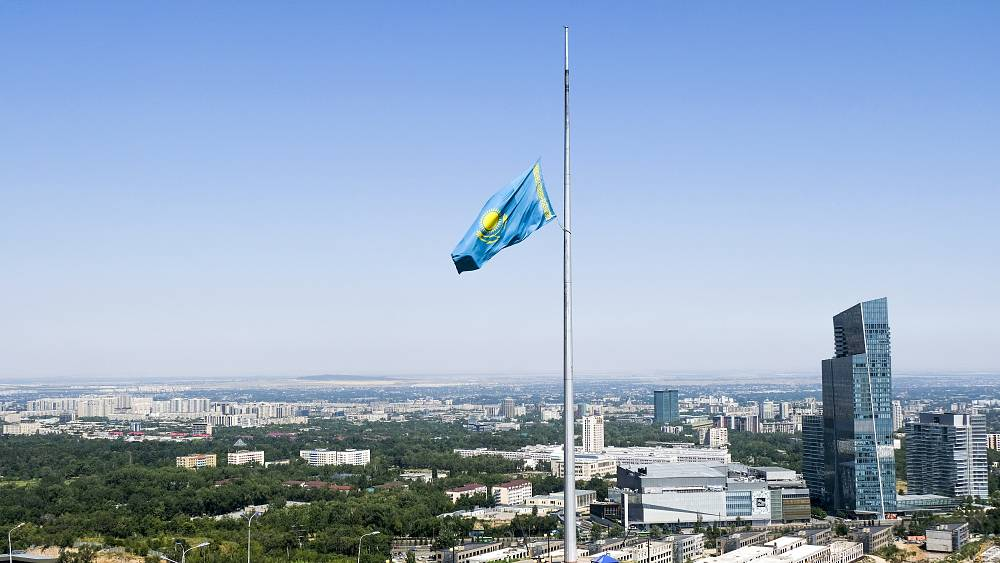Two police officers among five people killed in shooting in Kazakhstan thumbnail