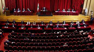 جلسه پارلمان لبنان