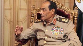 رئيس المجلس الأعلى للقوات المسلحة المصرية، ووزثر الدفاع المصري السابق المشير حسين طنطاوي، في 24 مايو 2011 في القاهرة.