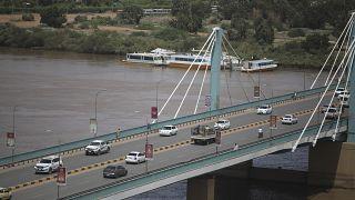 Мост через Нил в Хартуме был временно перекрыт
