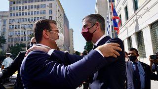 Ekrem İmamoğlu, Atina'da Atina Belediye Başkanı ile bir araya geldi