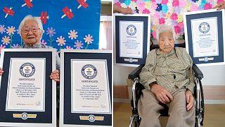 خواهران ژاپنی ۱۰۷ ساله، مسن ترین دوقلوهای جهان