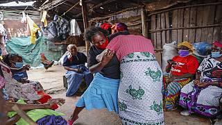 Kenyan elderly women learn to defend themselves against sexual attack