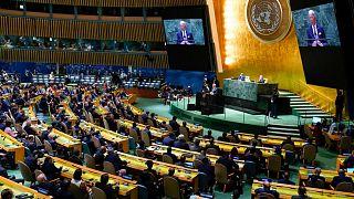 نشست مجمع عمومی سازمان ملل متحد