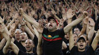 هواداران تیم ملی فوتبال مجارستان در دیدار با انگلیس