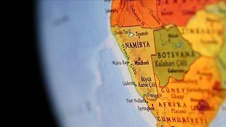 Namibya haritası