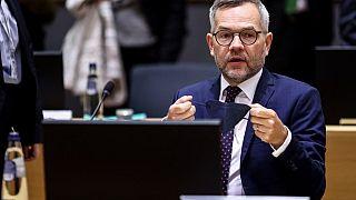 Michael Roth, secrétaire d'Etat allemand aux Affaires européennes - Bruxelles, le 21/09/2021