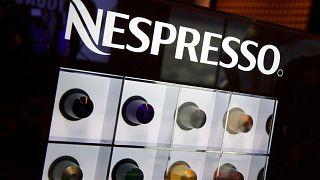 """كبسولات القهوة للعلامة التجارية """"نسبريسو"""" المملوكة للشركة السويسرية العملاقة نستله، سويسرا، 15 أبريل 2010"""