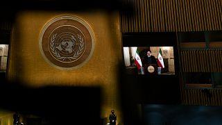 İran Cumhurbaşkanı İbrahim Reisi, 76. BM Genel Kurulu'na daha önceden kaydedilen bir video ile hitap etti