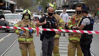 Einsatz der Rettungskräfte in Melbourne nach dem Erdbeben in Australien