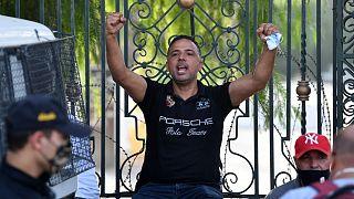 """النائب البرلماني عن حزب """"ائتلاف الكرامة"""" التونسي سيف الدين مخلوف"""