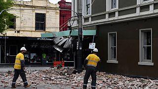Melbourne yakınlarındaki depremde birçok bina hasar gördü
