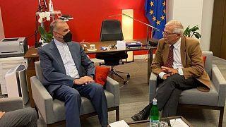 دیدار وزیر خارجه جدید ایران با مسئول سیاست خارجی اتحادیه اروپا در نیویورک