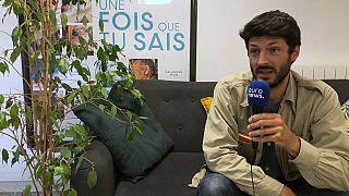Emmanuel Cappellin durante l'intervista.