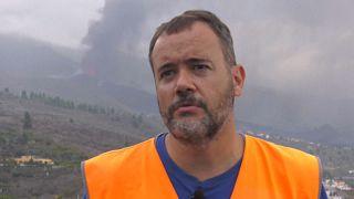 David Calvo, experto del Instituto Volcanológico de Canarias