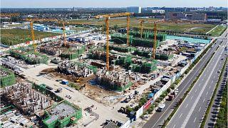 پروژه ساختمانی اورگراند در پکن