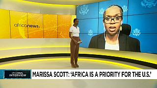 """""""Africa is a priority for the U.S."""" (Marissa Scott)"""