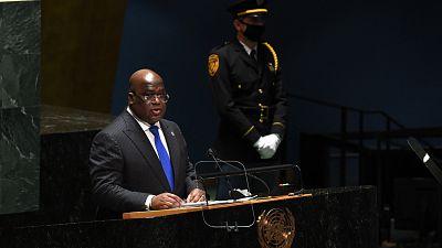 """ONU : """"L'Afrique n'a pas besoin d'aumône"""", déclare Felix Tshisekedi"""