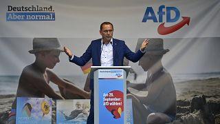 """تينو شروبالا، أبرز مرشحي  """"البديل من أجل ألمانيا"""" في الانتخابات التشريعية المرتقبة في 26 أيلول/سبتمبر"""