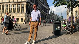Mayor of Ghent Mathias de Clercq from the Flemish Liberal Party