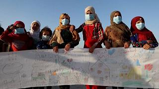 شاهد: ما هي مطالب أطفال إدلب في اليوم العالمي للسلام؟