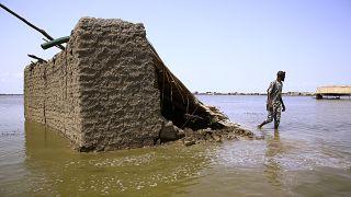 Soudan : des réfugiés sud-soudanais jetés à la rue par les inondations