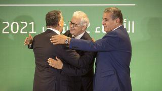 Maroc : coalition des partis arrivés en tête aux législatives