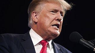 Ex-Präsident Donald Trump auf einem Kongress in Dallas, Texas, USA, 11.7.2021