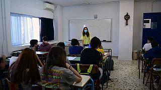Τάξη ελληνικού σχολείου