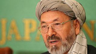 محمدکریم خلیلی، رهبر حزب وحدت اسلامی افغانستان/ آرشیو فرانسپرس/۲۰۰۷