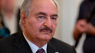 Libya'nın doğusundaki güçlerin lideri Halife Hafter