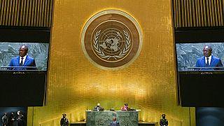 Umaro Sissoco Embaló na 76.ª Assembleia Geral da ONU