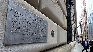 FED'in ABD'dek merkez binasından bir kare.