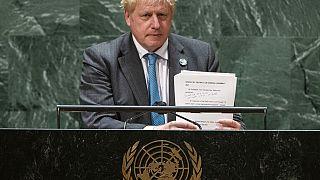 Джонсон в ООН говорил о климате