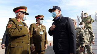 Savunma Bakanı Hulusi Akar'ın Libya ziyaretinden