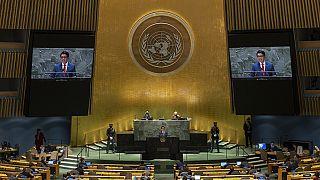À la tribune de l'ONU, le président malgache plaide pour le climat
