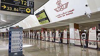 Aéroport de Casablanca, Maroc, archives, juillet 2021