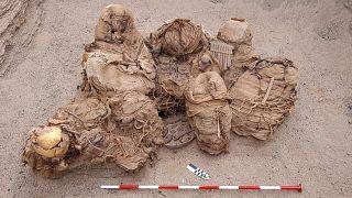 Calidda gaz şirketi işçileri 2018'de antik döneme ait 30 ceset daha bulmuştu.