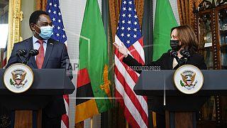 Zambia's Hichilema meets US Vice President