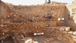 کاوشهای باستانشناسی در تپه تلالحمام اردن