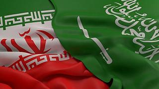 پرچمهای ایران و عربستان