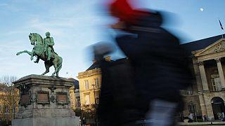 Памятник Наполеону Бонапарту в Руане (Франция)