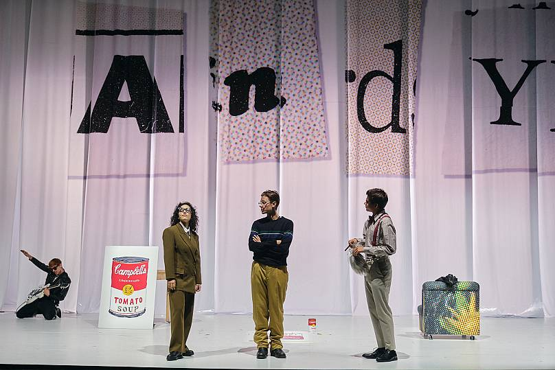 US filmmaker Gus Van Sant tells Warhol's early life in new musical 'Andy'