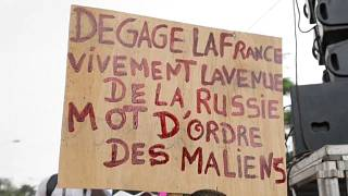 Mali : grand rassemblement en faveur de la Russie et contre la CEDEAO