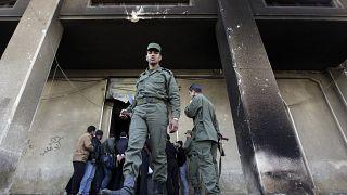 یک سرباز ارتش سوریه در درعا