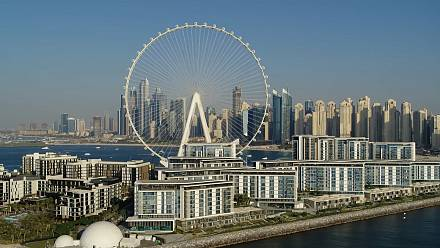 The world tallest Ferris wheel Ain Dubai is ready to roll
