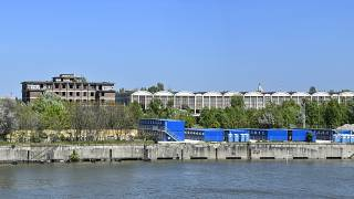 A Dunának ezen a szakaszán építenék fel a Fudan egyetem campusát