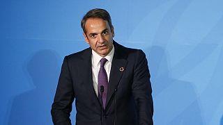 Ο πρωθυπουργός της Ελλάδας Κυριάκος Μητσοτάκης (φωτογραφία αρχείου).